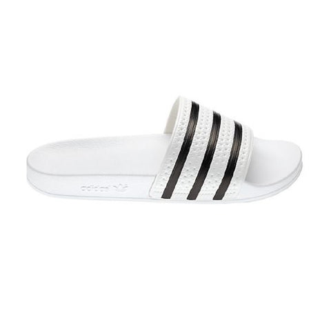 Adidas Adilette Slides - White/Black side