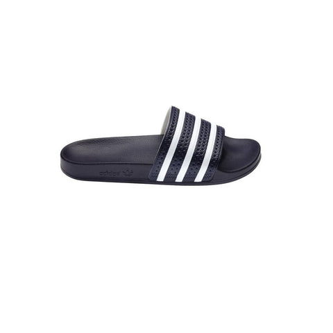 Adidas Adilette Slides - Black/White side