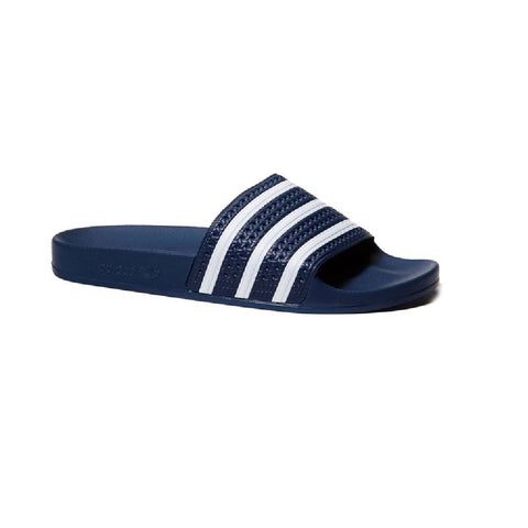 Adidas Adilette Slides - Blue/White