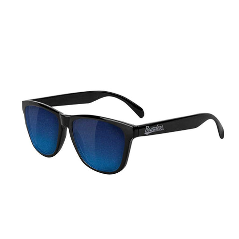 Boarders x Glassy Sunglasses - Blue Mirror Polarized