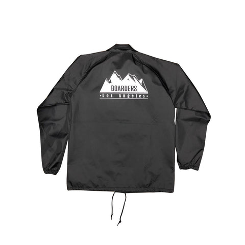 Boarders Mountain Bonded Tech Jacket - Black Back