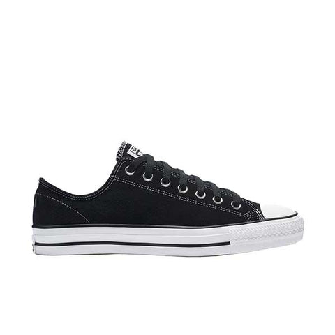 Converse CTAS Pro OX - Black/White/Suede Outer side