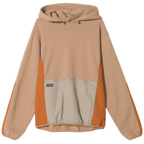Stussy Women's Division Contrast Hood - Khaki front