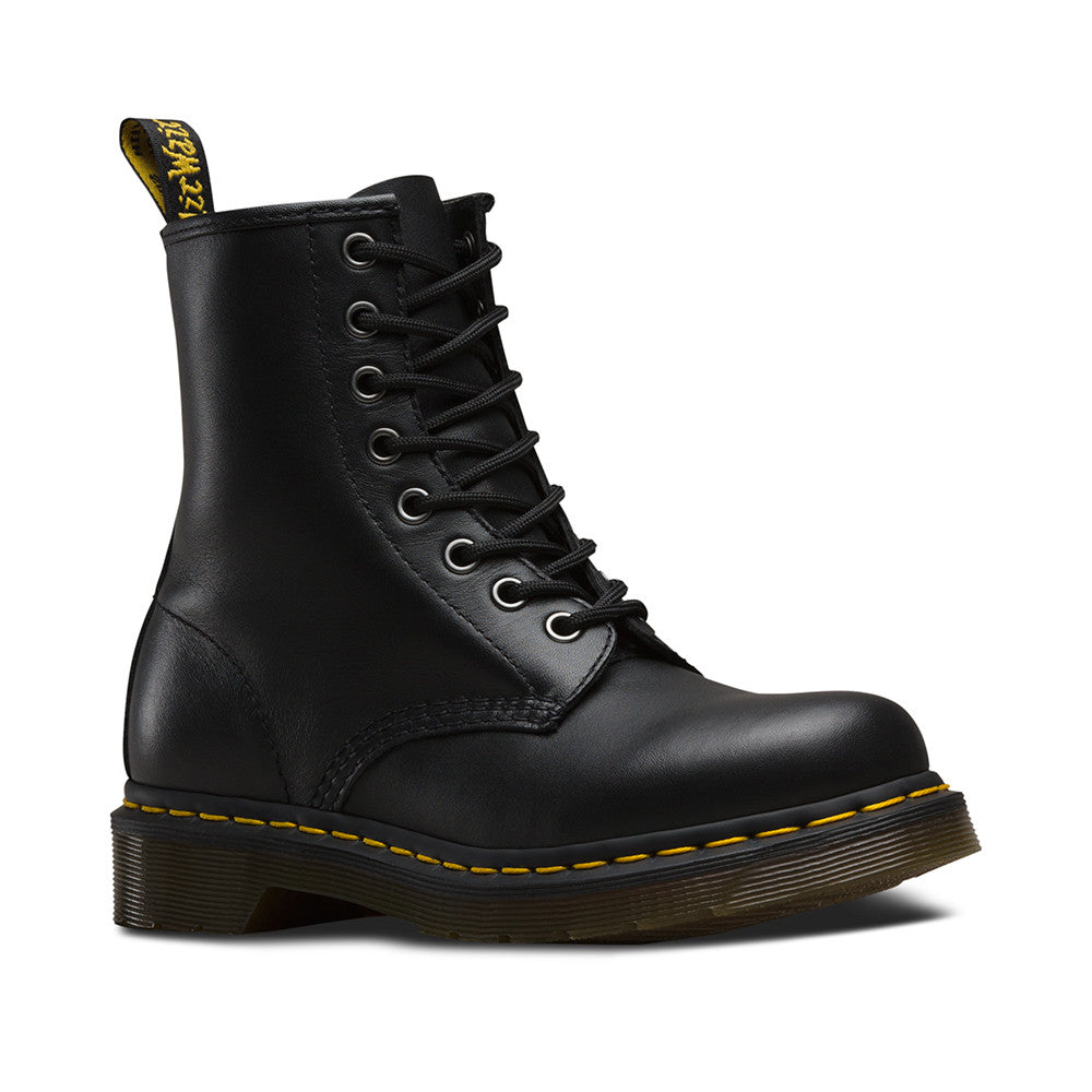 Dr Marten Women S 1460 Nappa Boot Black Boarders