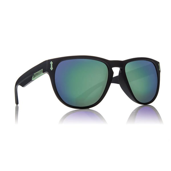 Dragon Marquis H2O Floatable Polarized Sunglasses - Matte Black/Green Iron