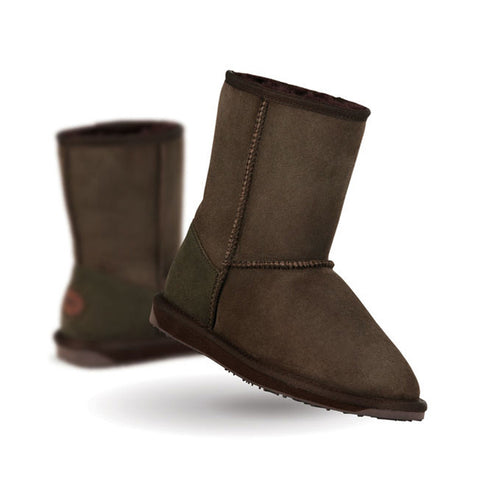 Emu Women's Stinger Lo Boots - Chocolate