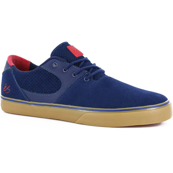 eS Accel SQ Shoes - Navy/Red -Side