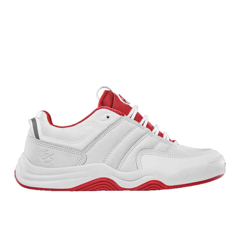 eS Evant Shoes - White/Red Outer Side