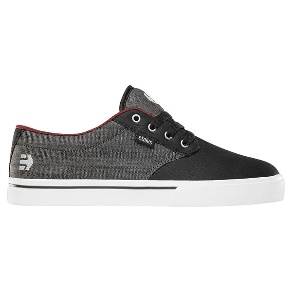 Etines Jameson 2 Eco Shoes - Black/Red/Black - Side