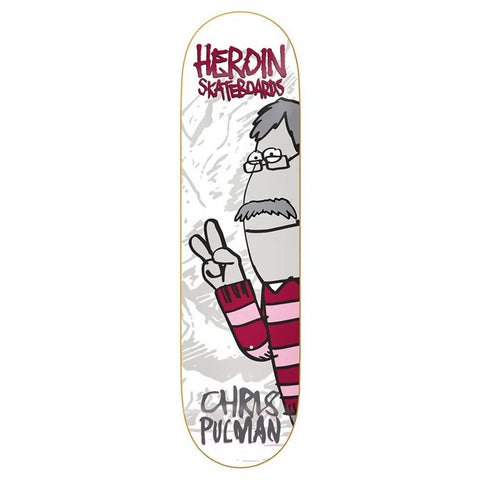 "Heroin CP Second Coming 8.5"" Deck"