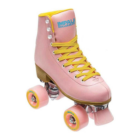 Impala Quad Skate - Pink/ Yellow front