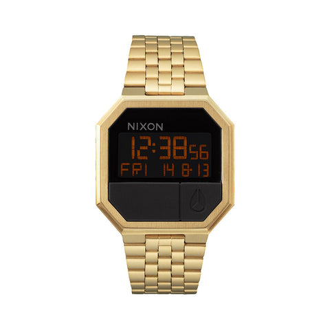 Nixon Re-Run Watch - All Gold - Front