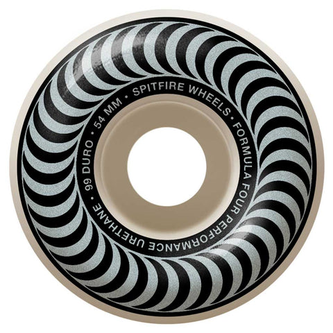 Spitfire F4 99 Radials Wheel 54mm - Silver Front