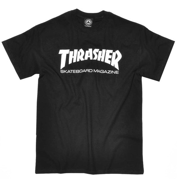 Thrasher Skate Magazine Tee - Black