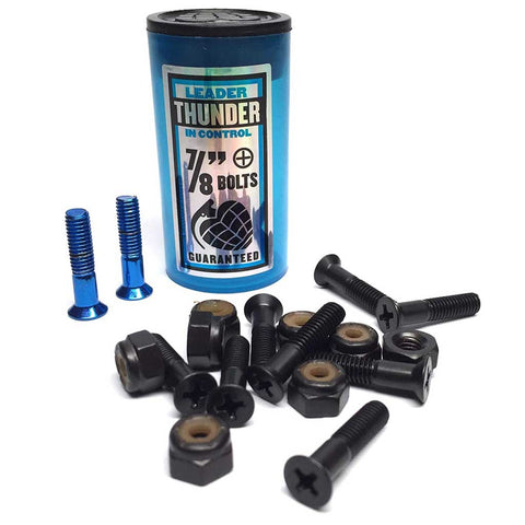 "Thunder 7/8"" Phillips Hardware - Black"