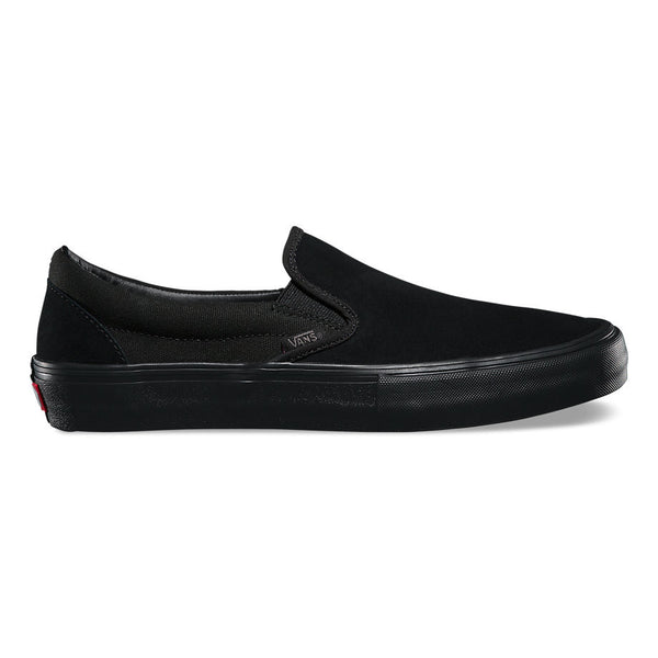 Vans Slip-on Pro Skate Shoes - Blackout - outside