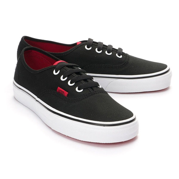 afa8972a89af Vans Authentic Shoes - Black Chinese Red