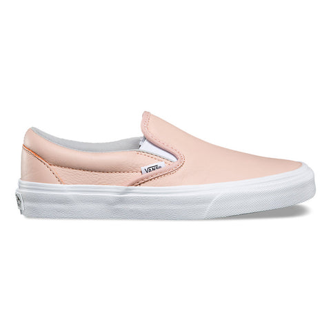 Vans Women's Leather Slip on - Oxford/Evening Sand Outer Side