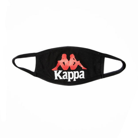 Kappa Authentic Wikt Face Mask - Black