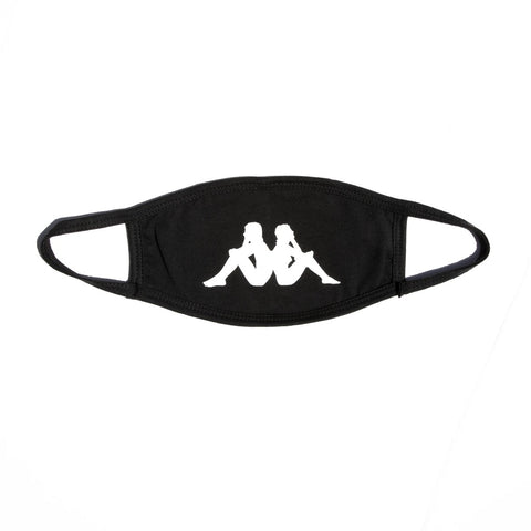 Kappa Authentic Wisp Face Mask - Black