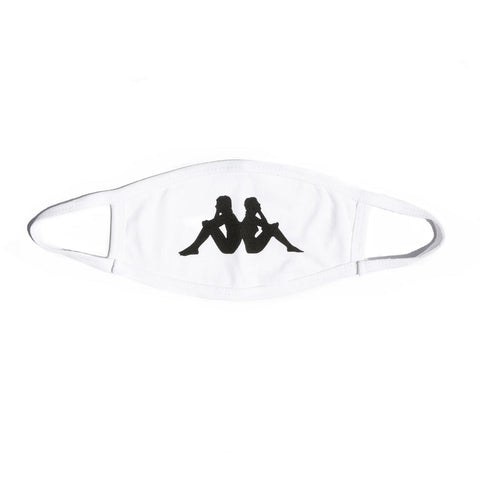 Kappa Authentic Wisp Face Mask - White