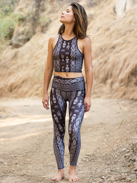 Diamond Tribe Charcoal Leggings