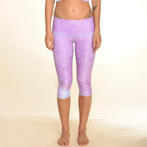 Mermaid Fairyqueen Lavender Capri