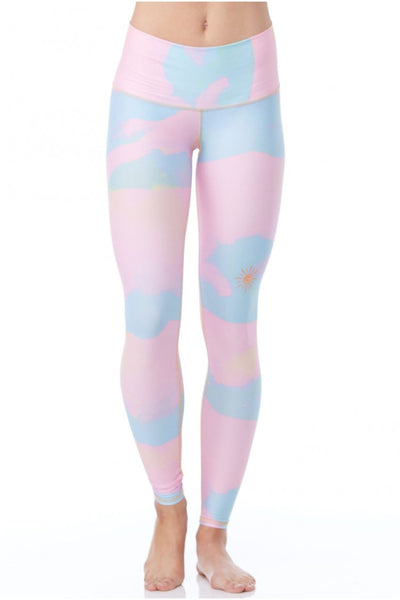 New Moon Rainbow camo Leggings