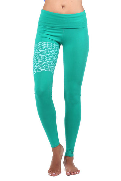 Mermaid II Organic Leggings
