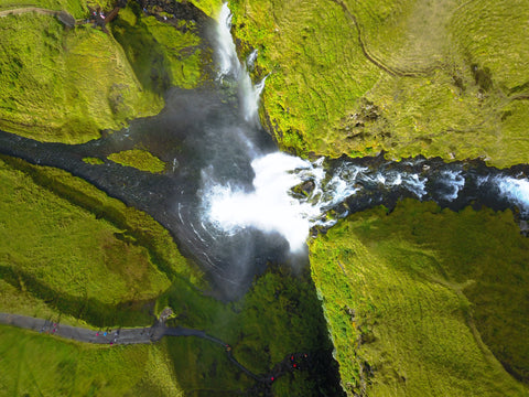 Pictured: Skógafoss