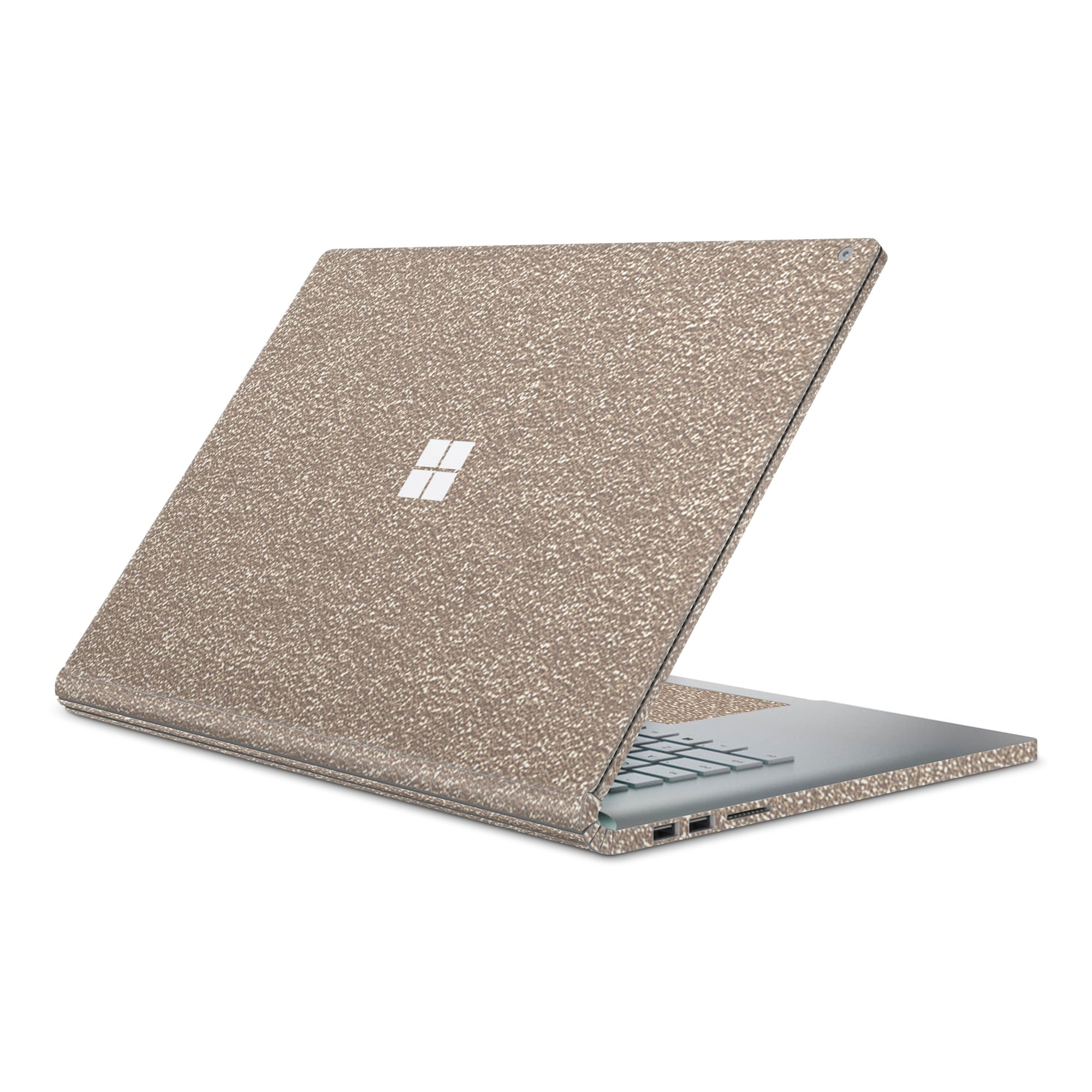 Rose Glitter Surface Book 2 Full Coverage Skin