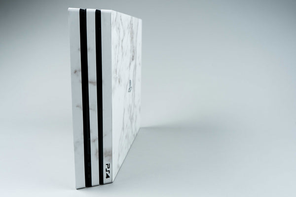 Playstation 4 White Marble Skin