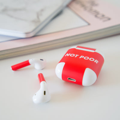 Poor AirPods Wireless Wrap