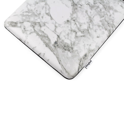 White Marble MacBook Pro 16-inch Sleeve