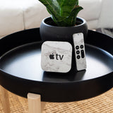 White Marble Apple TV 4th Generation