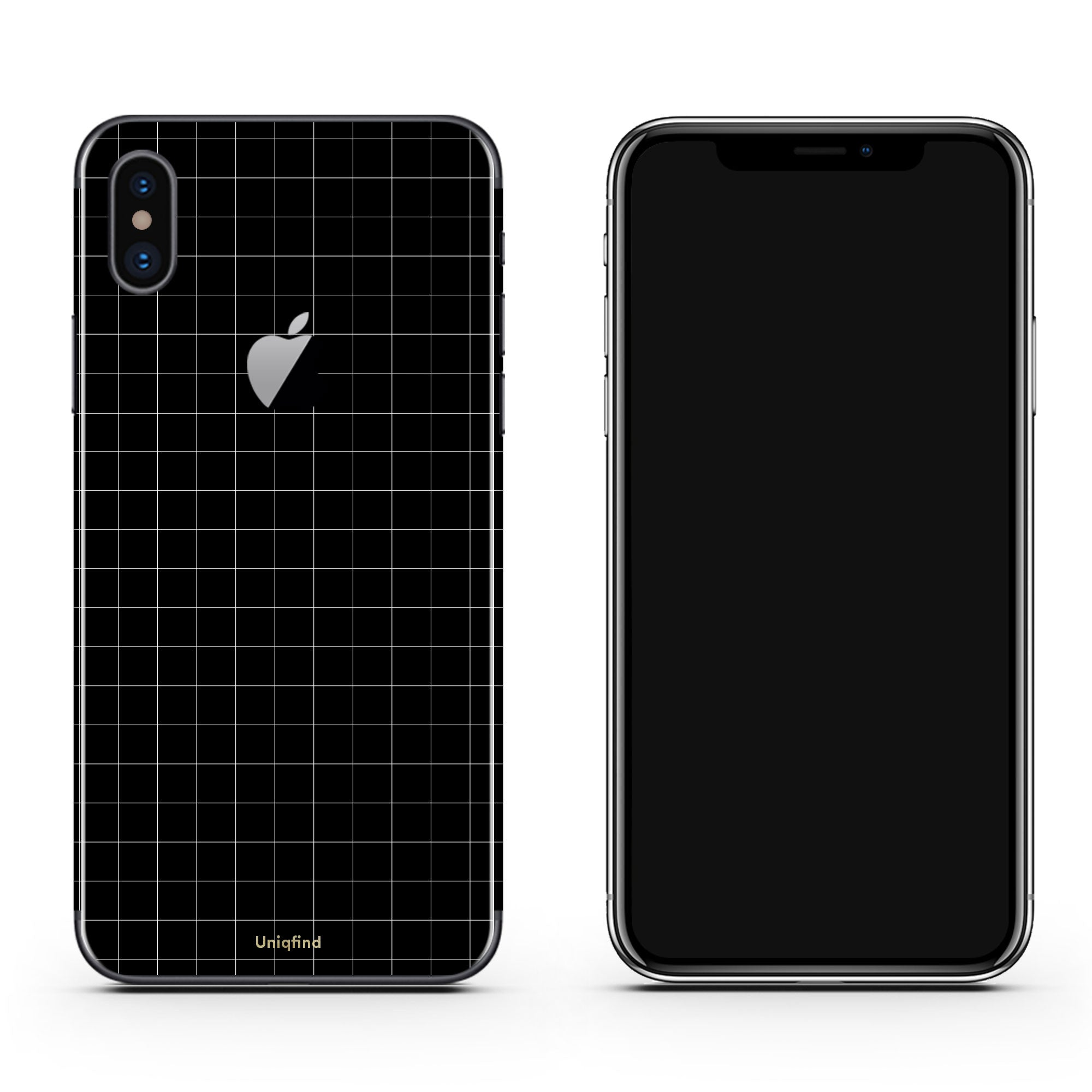 iPhone X Grid Wrap
