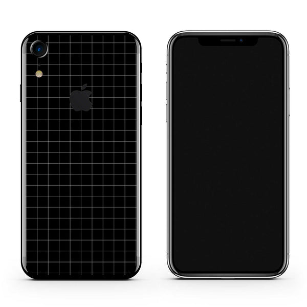 iPhone skin XR Grid
