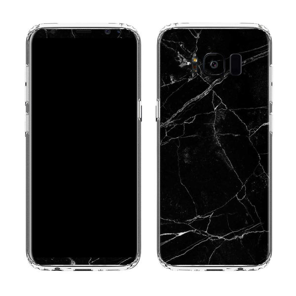 Black Marble Case for Galaxy S8 and S8 Plus