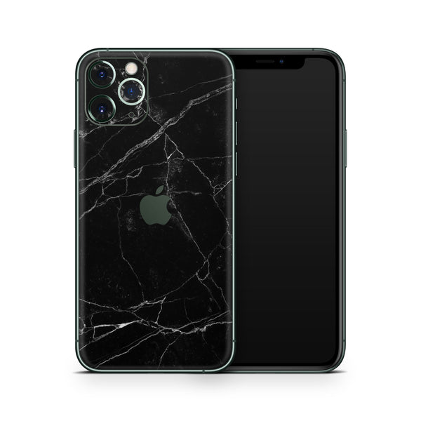 Black Marble iPhone 11 Pro and iPhone 11 Pro Max Skin