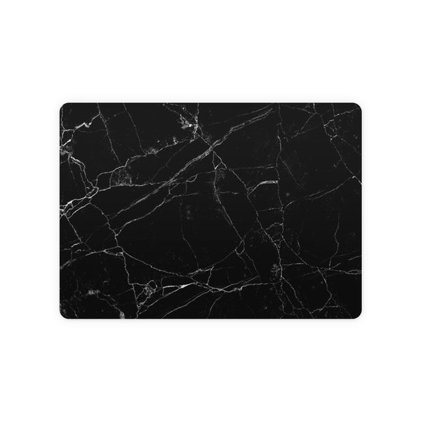 Black Marble Magic Trackpad 2 Top and Bottom Skin