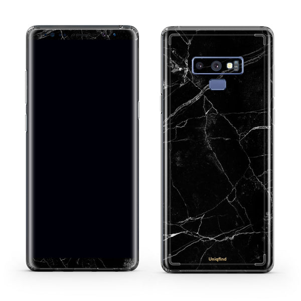 Black Marble Cases for Note 9