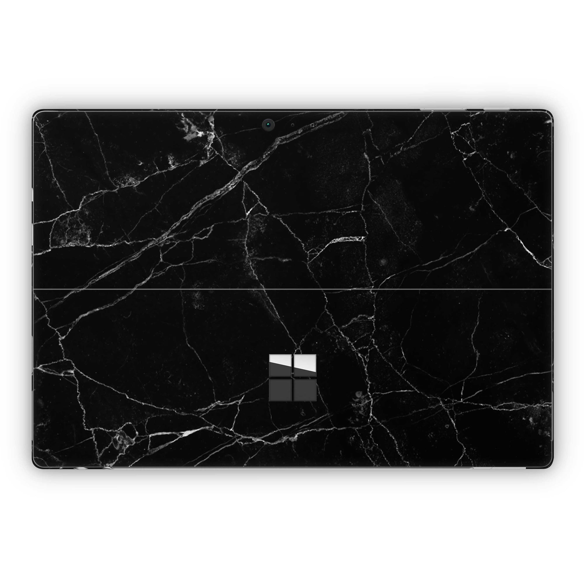 Black Marble Surface Pro 5 and Surface Pro 6 Skin