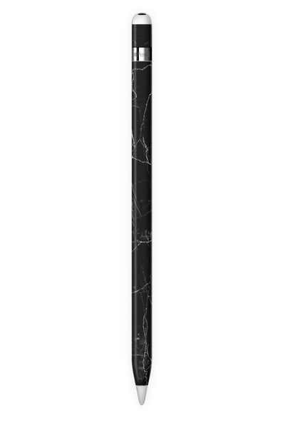 Black Marble Apple Pencil Skin