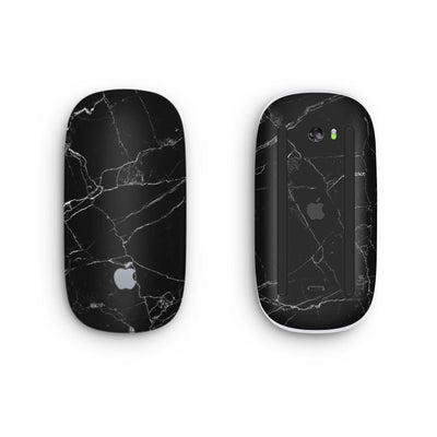 Black Marble Magic Mouse 2 Skin