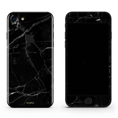 Black Marble iPhone 6/6S Skin + Case