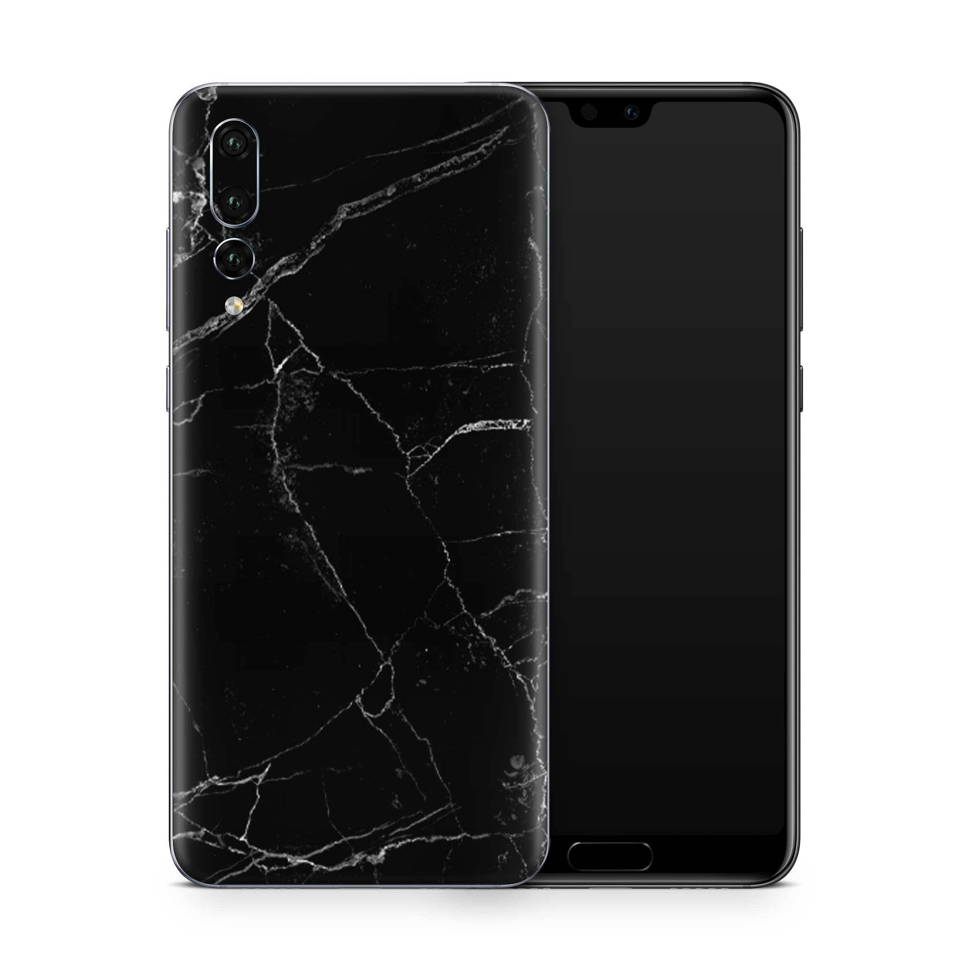 Black Marble Skin Huawei P20 Pro and P30 Pro