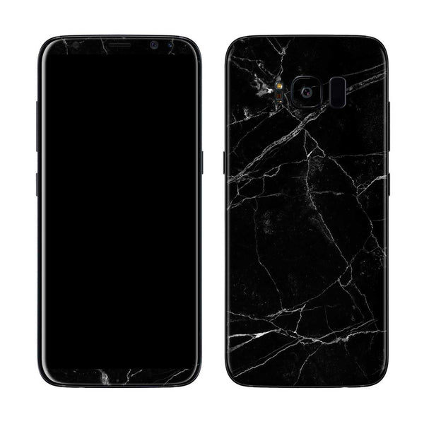 Black Marble Skin for Samsung S8 and S8 Plus