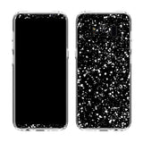 Black Speckle Case for Galaxy S8 and S8 Plus
