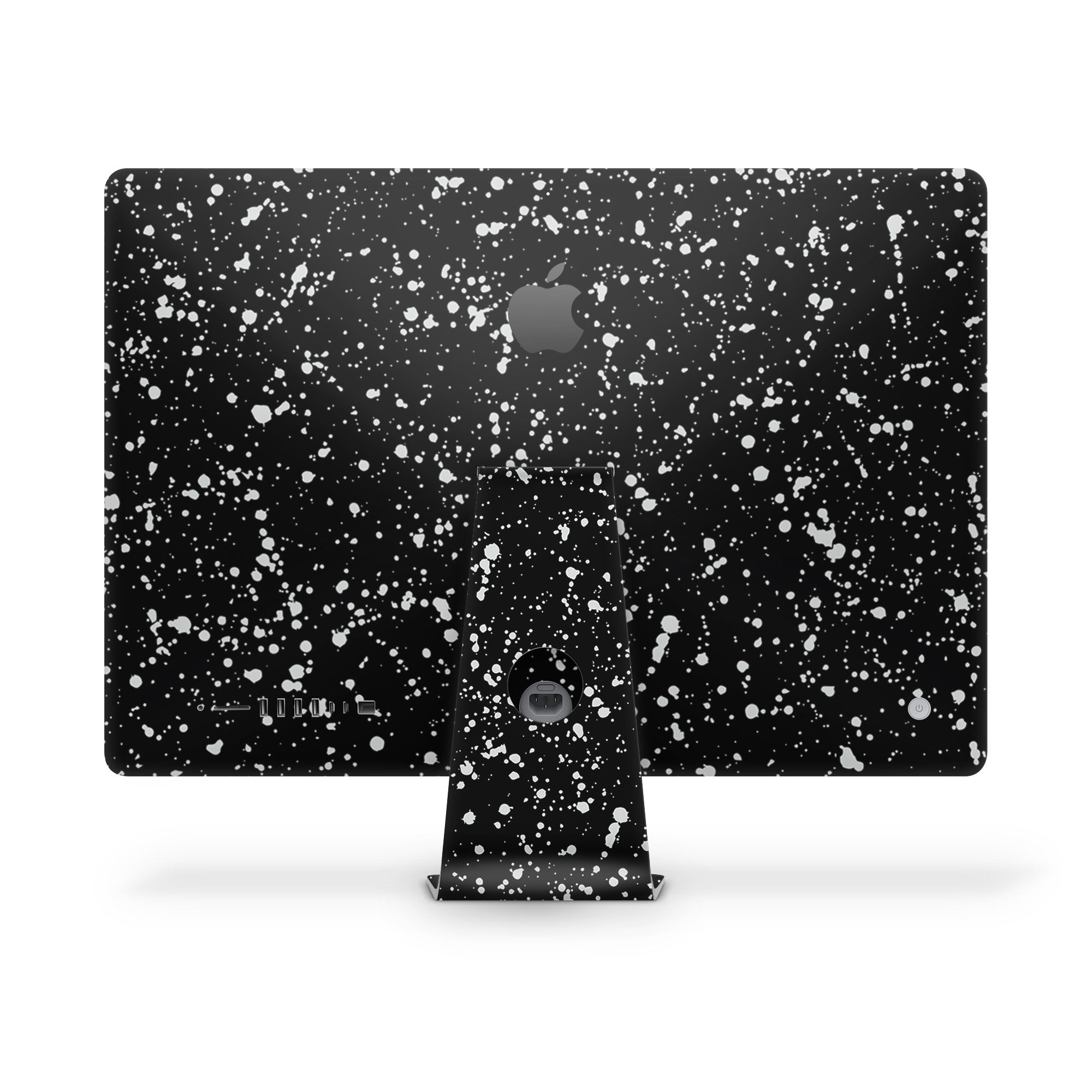 iMac Decal Black Speckle