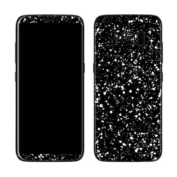 Black Speckle Skin for Samsung S8 and S8 Plus